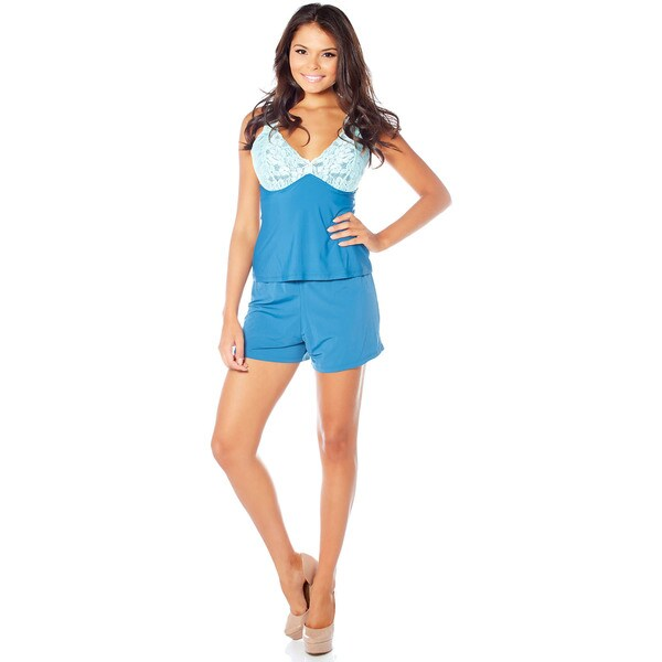 Rhonda Shear Sweet Secret Butterknit Cami and Shorts Set