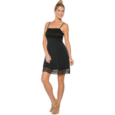 Rhonda Shear Women's Chemise With Shelf Bra