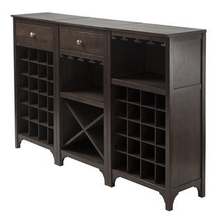 Ancona 3-Pc Modular Wine Cabinet  Set