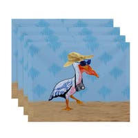 18 x 14-inch Bernadette Animal Print Placemat (Set of 4)