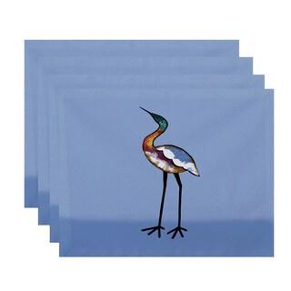 18 x 14-inch Bird Fashion Animal Print Placemat (Set of 4)