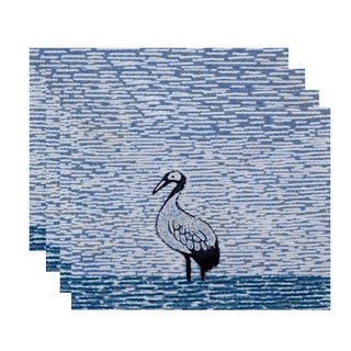 18 x 14-inch Bird Watch Animal Print Placemat (Set of 4)