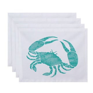 18 x 14-inch Crab Animal Print Placemat (Set of 4)