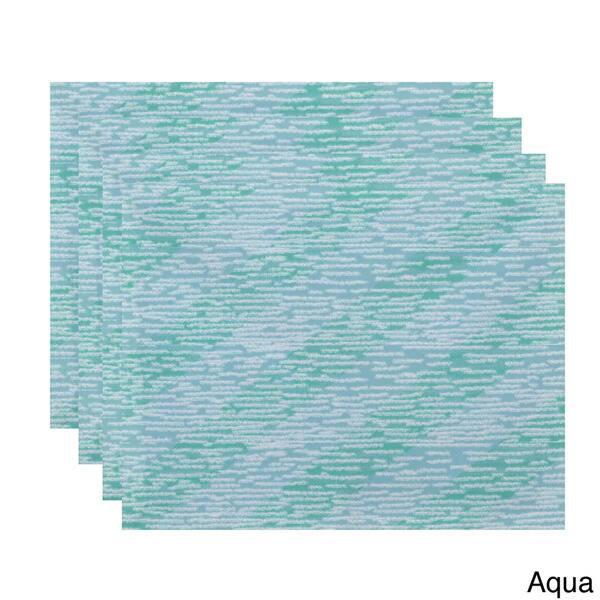 Green Aqua Knit Placemats