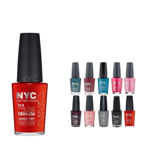 Shop NYC In A New York Minute 10-piece Nail Polish Set - Free ...