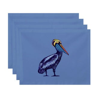 18 x 14-inch Sea Music Animal Print Placemat (Set of 4)