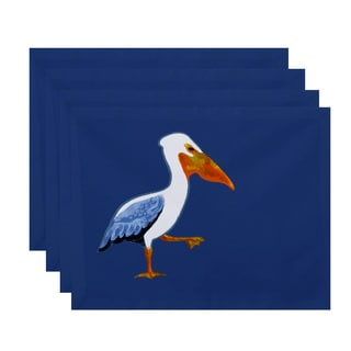 18 x 14-inch Pelican March Animal Print Placemat (Set of 4)