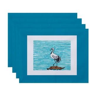 18 x 14-inch Sandbar Animal Print Placemat (Set of 4)