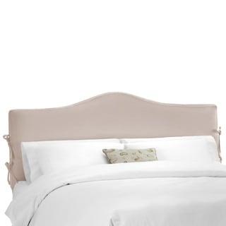 Skyline Furniture Shantung Dove Slipcover Headboard