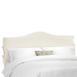 Skyline Furniture Shantung Parchment Slipcover Headboard
