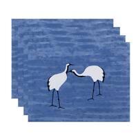 18 x 14-inch Stilts Animal Print Placemat (Set of 4)