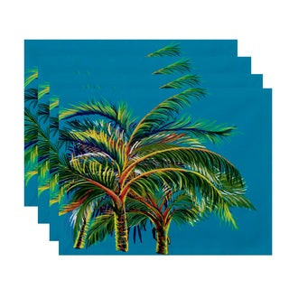 18 x 14-inch Vacation Floral Placemat (Set of 4)