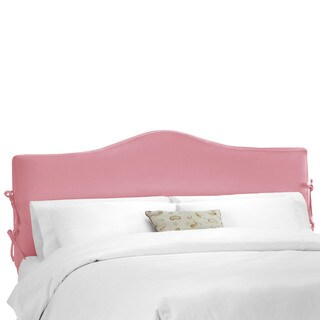 Skyline Furniture Shantung Woodrose Pink Slipcover Headboard