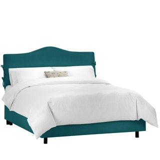 Skyline Furniture Shantung Peacock Slipcover Bed