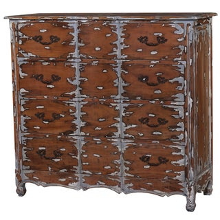 Bramble Co. Provence 4-drawer Majestic Extreme Distressed Mahogany Dresser