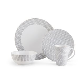 Mikasa Avery Dots 4-piece Place Setting