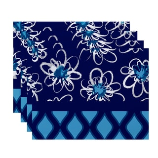 18 x 14-inch Penelope Trellis Geometric Print Placemat (Set of 4)