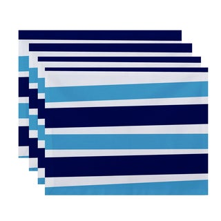 18 x 14-inch Stripes Stripe Print Placemat (Set of 4)
