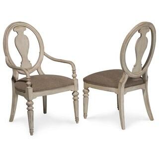 A.R.T. Furniture Belmar II Oval Splat Back Dining Chair (Set of 2)