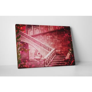 'Fantasy Staircase' Gallery-wrapped Canvas Wall Art
