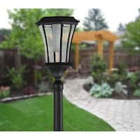 Abigail Solar Lamp Post and Planter