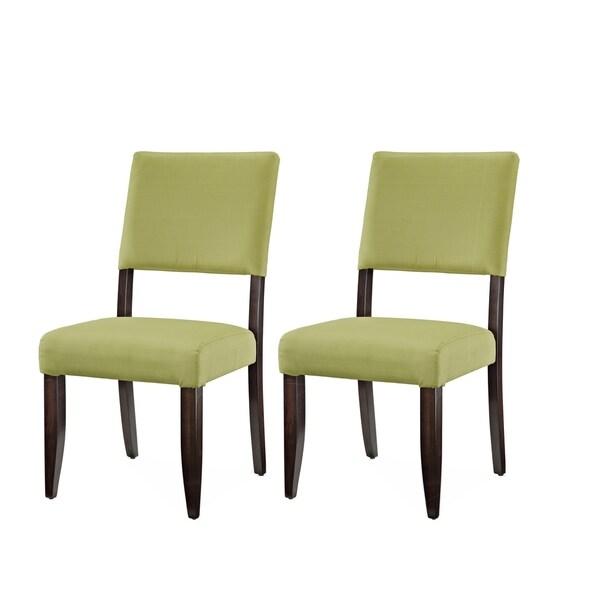 Kitchen Bar Greenside: Shop Greyson Living Tori Avocado Green Dining Chair (Set