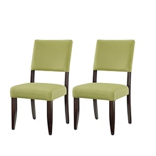 Greyson Living Tori Avocado Green Side Chair (Set of 2)