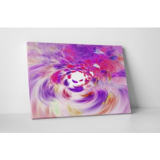 Abstract Art 'Vortex' Gallery-wrapped Canvas Wall Art