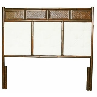 Zew Bamboo Hand-crafted Home-style Queen Headboard