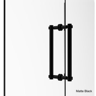 Allied Brass 12-inch Back-to-back Shower Door Pull