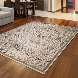 Admire Home Living Gallina Animal Print Area rug (5'3 x 7'3)