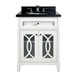 Grazia Collection 30 Inch Vanity with Marble Countertop