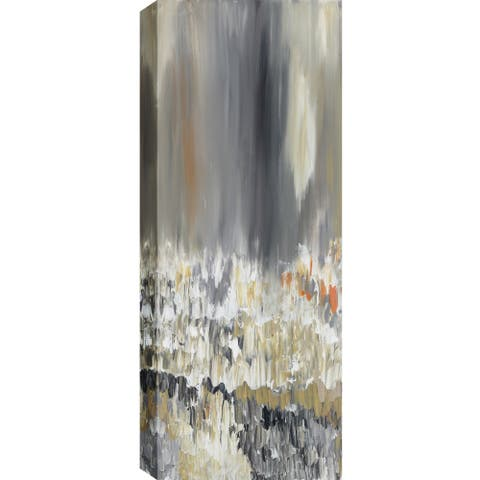 ArtMaison Canada. Sanjay Patel, Narrow Reflections Abstract, Canvas Print Canvas Wall Art Decor, Gallery Wrapped 20X60
