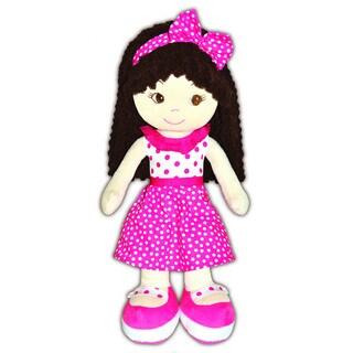 GirlznDollz Jessica Pink Fabric Pretty in Pink Baby Doll