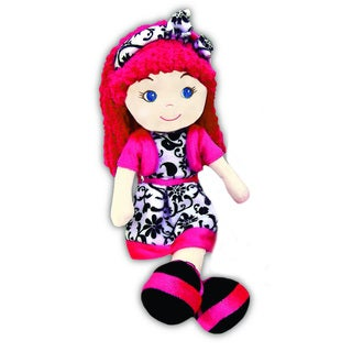 GirlznDollz Leila Holiday Glam 14-inch Baby Doll