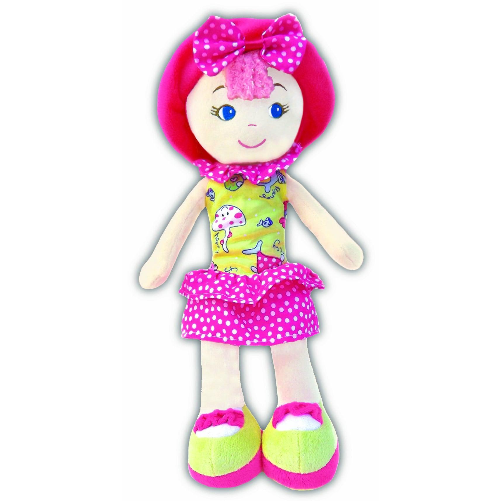Little Tikes GirlznDollz Leila Polka-dot Cutie Yellow/Pin...