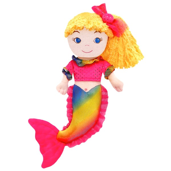 GirlznDollz Cameron Rainbow Mermaid Doll