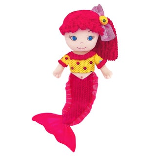 GirlzNDollz Leila Sequin Mermaid Doll