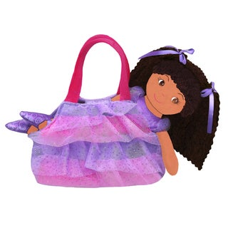 GirlznDollz Elana Sparkle Ballerina Doll with Purse