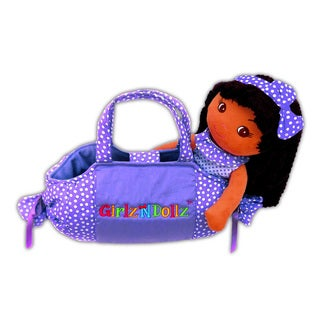 GirlznDollz Candy-shaped 10-inch x 5-inch x 12-inch Purse Baby Doll