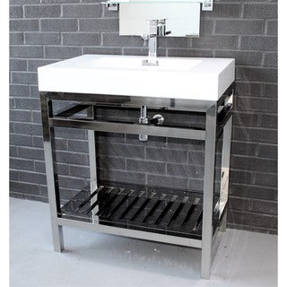KubeBath Cisco 30-inch Single Sink Bathroom Vanity