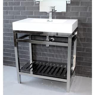 KubeBath Cisco 30 Inch Single Sink Bathroom Vanity