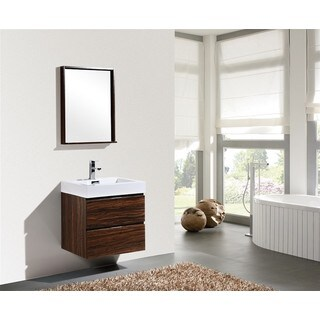 KubeBath Bliss 24-inch Single-sink Bathroom Vanity (4 options available)