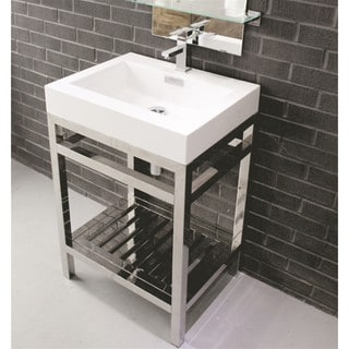KubeBath Cisco 24-inch Single-sink Bathroom Vanity
