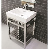 KubeBath Cisco 24-inch Single-sink Bathroom Vanity