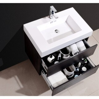 KubeBath Bliss 30-inch Single Sink Bathroom Vanity