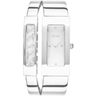 SO&CO New York Women's SoHo Quartz Rectangular Watch