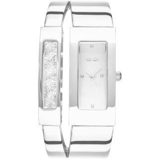 SO&CO New York Women's SoHo Quartz Rectangular Watch