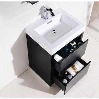 KubeBath Bliss 24-inch Single Sink Bathroom Vanity