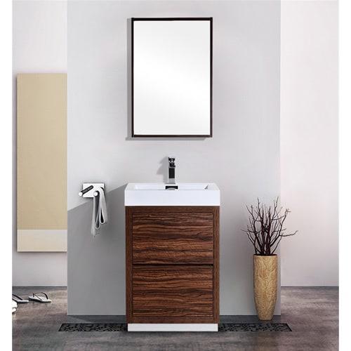 Kubebath Bliss 24 Inch Single Sink Bathroom Vanity